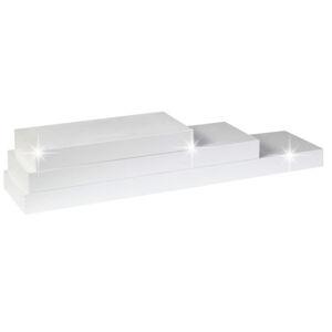 TEMPO KONDELA Gana polica 60x25 cm biela