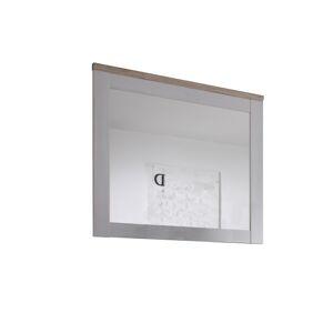 TEMPO KONDELA Provensal zrkadlo na stenu biela / dub san remo