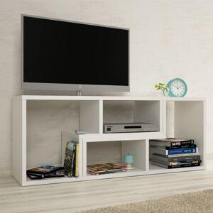 TEMPO KONDELA Vario univerzálny tv stolík biela