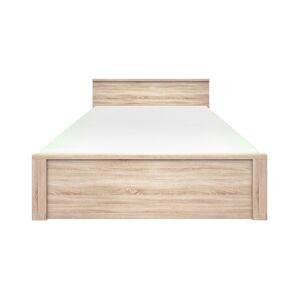 TEMPO KONDELA Norty Typ 8 160 manželská posteľ dub sonoma