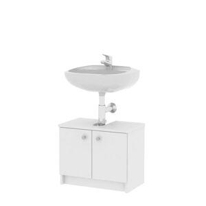 TEMPO KONDELA Galena SI02 kúpeľňová skrinka pod umývadlo biela