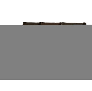 NABBI Adria rozkladacia pohovka s úložným priestorom hnedá / tmavohnedá