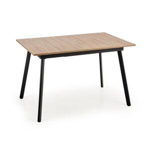 HALMAR Albon rozkladací jedálenský stôl dub sonoma / sivá