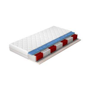 NABBI Amateo 80 obojstranný taštičkový matrac latex / pružiny / plsť / HR pena / látka