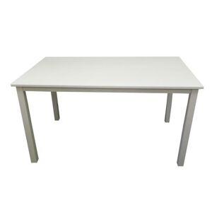 TEMPO KONDELA Astro jedálenský stôl 135 cm biela