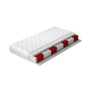 NABBI Aveco 90 obojstranný taštičkový matrac pružiny / plsť / PUR pena / látka