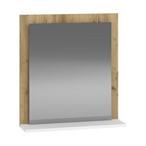 NABBI Baleta Z60 zrkadlo na stenu craft zlatý / alaska