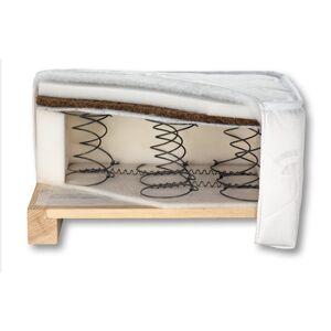 BOG-FRAN Feniks-180 pružinový matrac 180x200 cm pružiny / latex-kokosová vrstva / PUR pena / látka