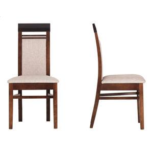 BOG-FRAN Forrest FR 13 jedálenská stolička dub milano / orech tmavý