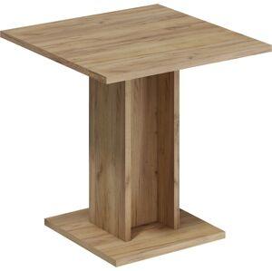 MEBLOCROSS Bond BON-04 jedálenský stôl craft zlatý