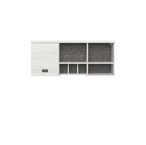 BLACK RED WHITE Namur SFW1D skrinka na stenu smrekovec sibiu svetlý / sivá sentences