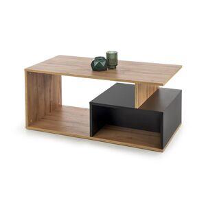 HALMAR Combo konferenčný stolík dub wotan / biela