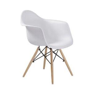 TEMPO KONDELA Damen New jedálenská stolička biela / buk