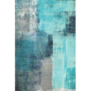 TEMPO KONDELA Esmarina Typ 2 koberec 160x230 cm modrá / sivá