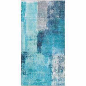 TEMPO KONDELA Esmarina Typ 2 koberec 80x150 cm modrá / sivá