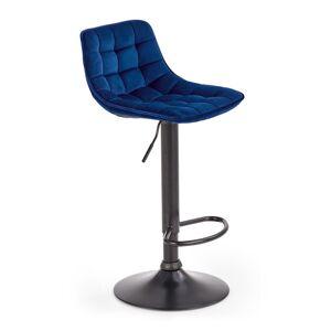HALMAR H-95 barová stolička granátová / čierna