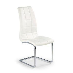 HALMAR K147 jedálenská stolička biela / chróm