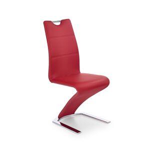HALMAR K188 jedálenská stolička červená