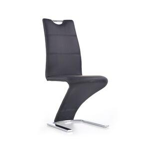 HALMAR K291 jedálenská stolička čierna