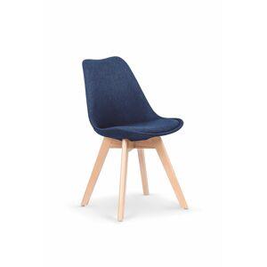 HALMAR K303 jedálenská stolička tmavomodrá