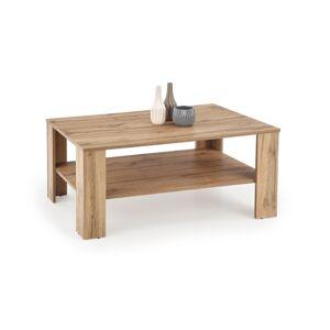 HALMAR Kwadro konferenčný stolík dub votan