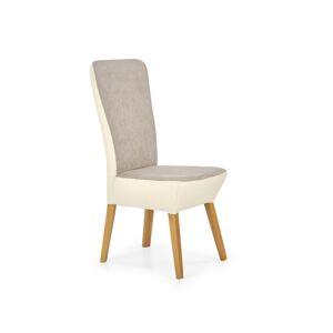 HALMAR Orchid 2 jedálenská stolička béžová / svetlobéžová