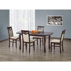 HALMAR Henryk rozkladací jedálenský stôl tmavý orech