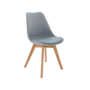 TEMPO KONDELA Bali 2 New jedálenská stolička sivá / buk