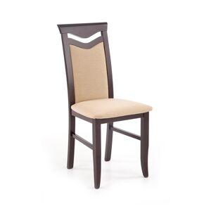 HALMAR Citrone BIS jedálenská stolička wenge / béžová