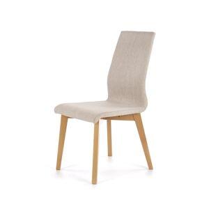 HALMAR Focus jedálenská stolička dub medový / piesková