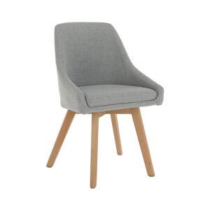 TEMPO KONDELA Teza jedálenská stolička sivá / buk