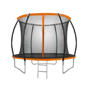 NABBI Jumper PRO trampolína 305 cm čierna / oranžová