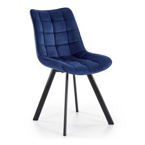 HALMAR K332 jedálenská stolička granátová / čierna