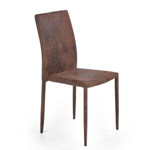 HALMAR K375 jedálenská stolička tmavohnedá