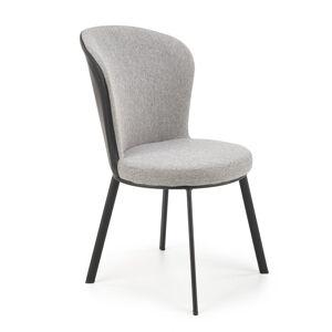 HALMAR K447 jedálenská stolička sivá / čierna
