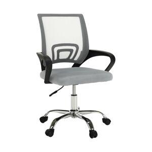 TEMPO KONDELA Dex 2 New kancelárske kreslo sivohnedá (taupe) / čierna