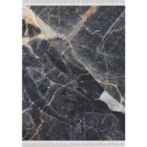 TEMPO KONDELA Renox Typ 1 koberec čierny mramor