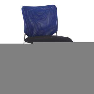 TEMPO KONDELA Altan konferenčná stolička modrá / čierna / chróm