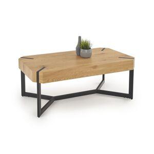 HALMAR Lavida konferenčný stolík dub zlatý / čierna