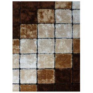 TEMPO KONDELA Ludvig Typ 3 koberec 200x300 cm béžová / hnedá