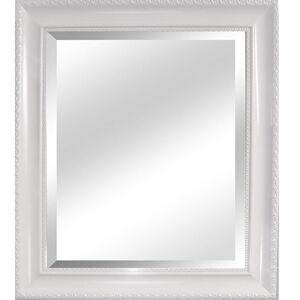 TEMPO KONDELA Malkia Typ 2 zrkadlo na stenu biela