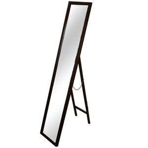TEMPO KONDELA Malkia Typ 4 stojace zrkadlo hnedá