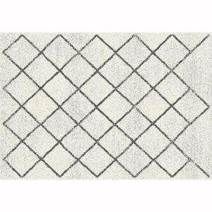 KONDELA Mates Typ 2 koberec 67x120 cm béžová / vzor