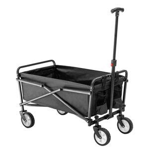 NABBI Mates záhradný vozík čierna
