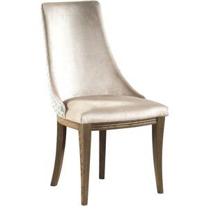 TARANKO Krzeslo U1 jedálenská stolička svetlohnedá / mentolový vzor / dub Como
