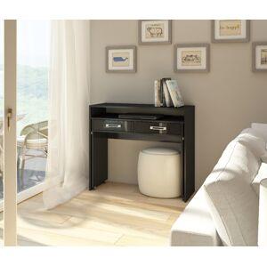 MEBLOCROSS Zoom pc stolík čierna