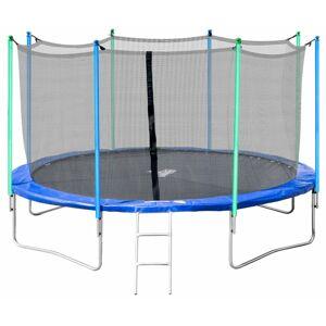 NABBI Jumper trampolína 366 cm čierna / modrá