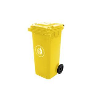 NABBI Mulltonne 120 L popolnica žltá