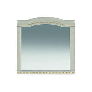 NABBI Valenta M-1000 rustikálne zrkadlo na stenu breza polárna / breza