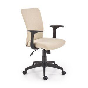 HALMAR Nody detská stolička na kolieskach béžová